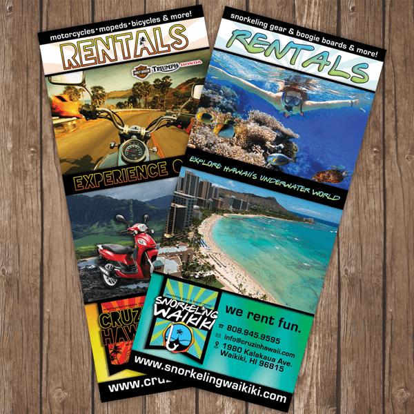 Cruzin Hawaii Marketing Brochure Design