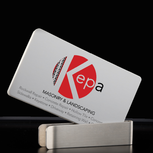 Kepa Masonry Logo & Business Card Design