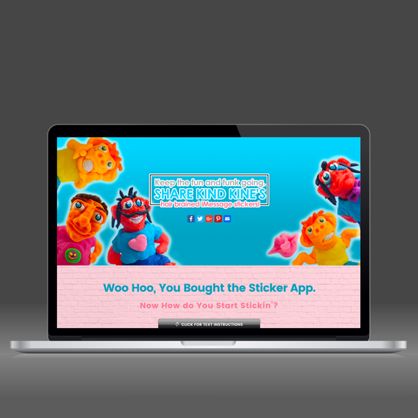 Kindkine.com- Basic WordPress Website Design